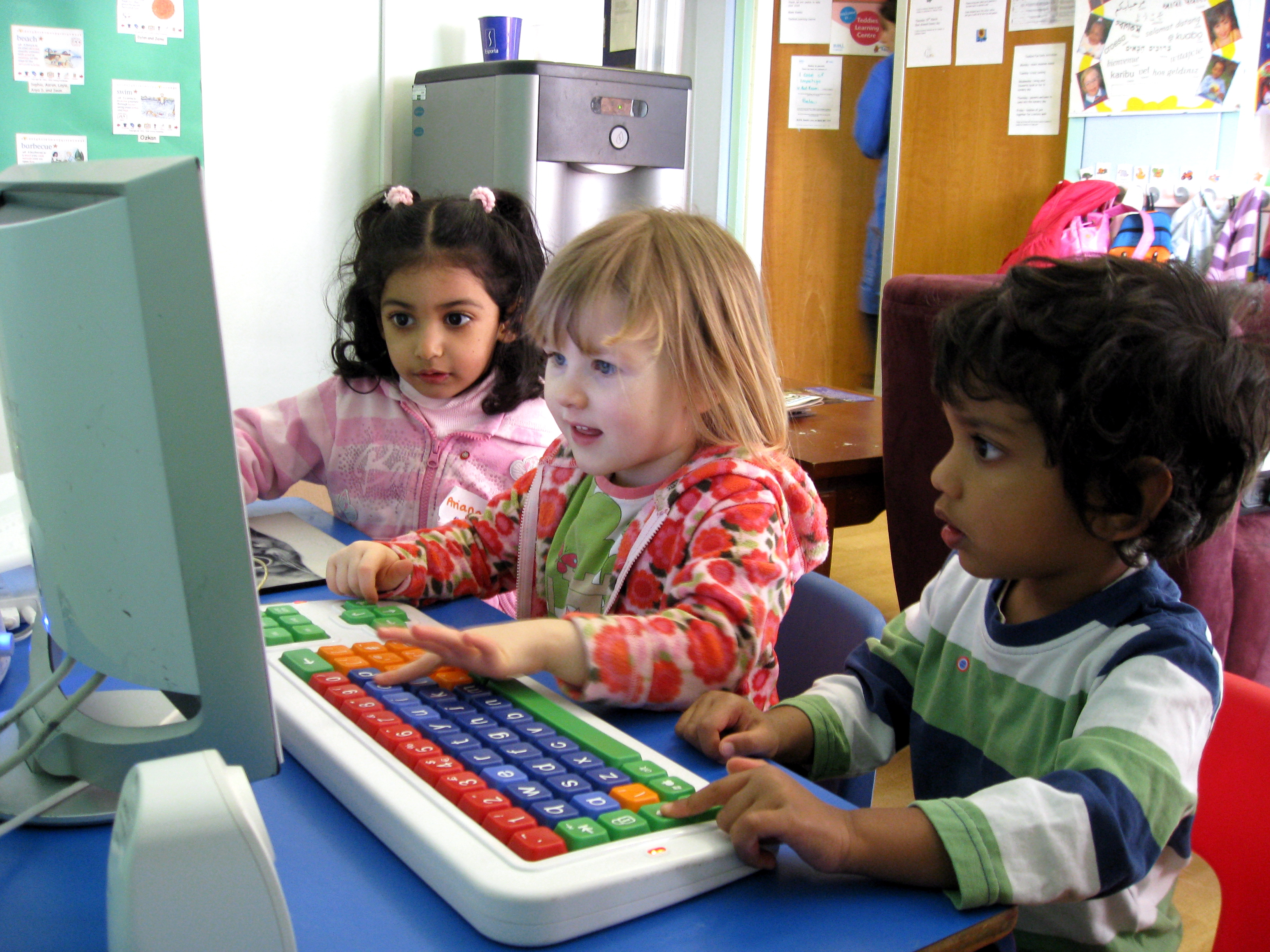 Pre-School Computer Classes - Click IT!